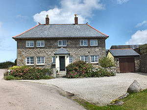 Breja Farmhouse - Towednack - St Ives - Cornwall